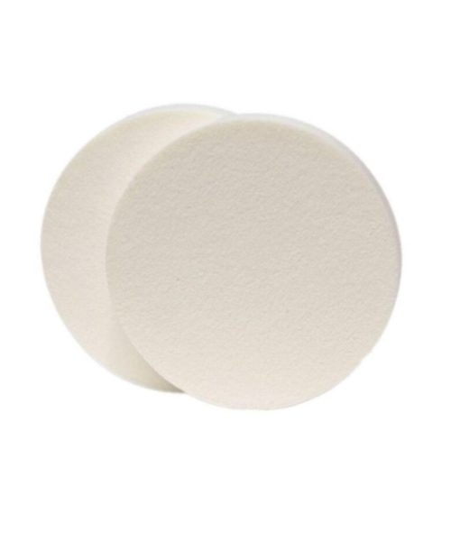 makeupsvamp hvid rund svamp til makeup