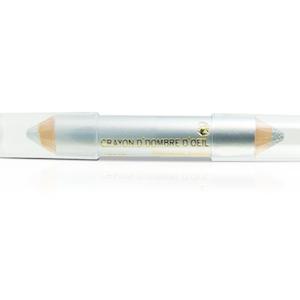 PLESP02 Duo Liner Shimmer Silver og Silver Micro Sparkles