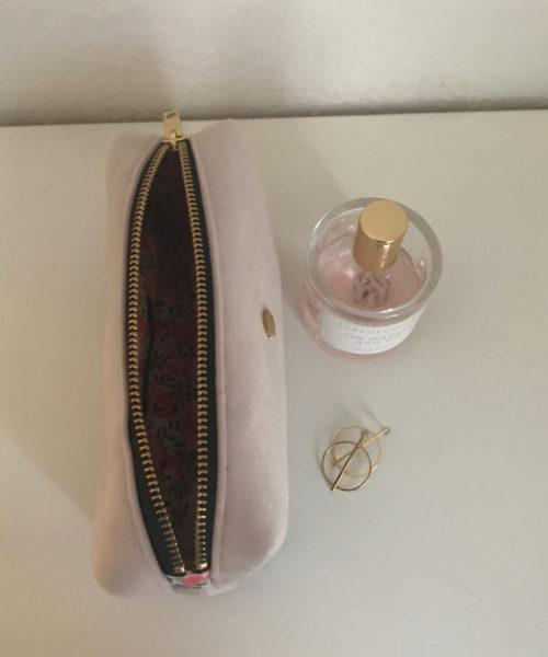 Makeup taske lynlås